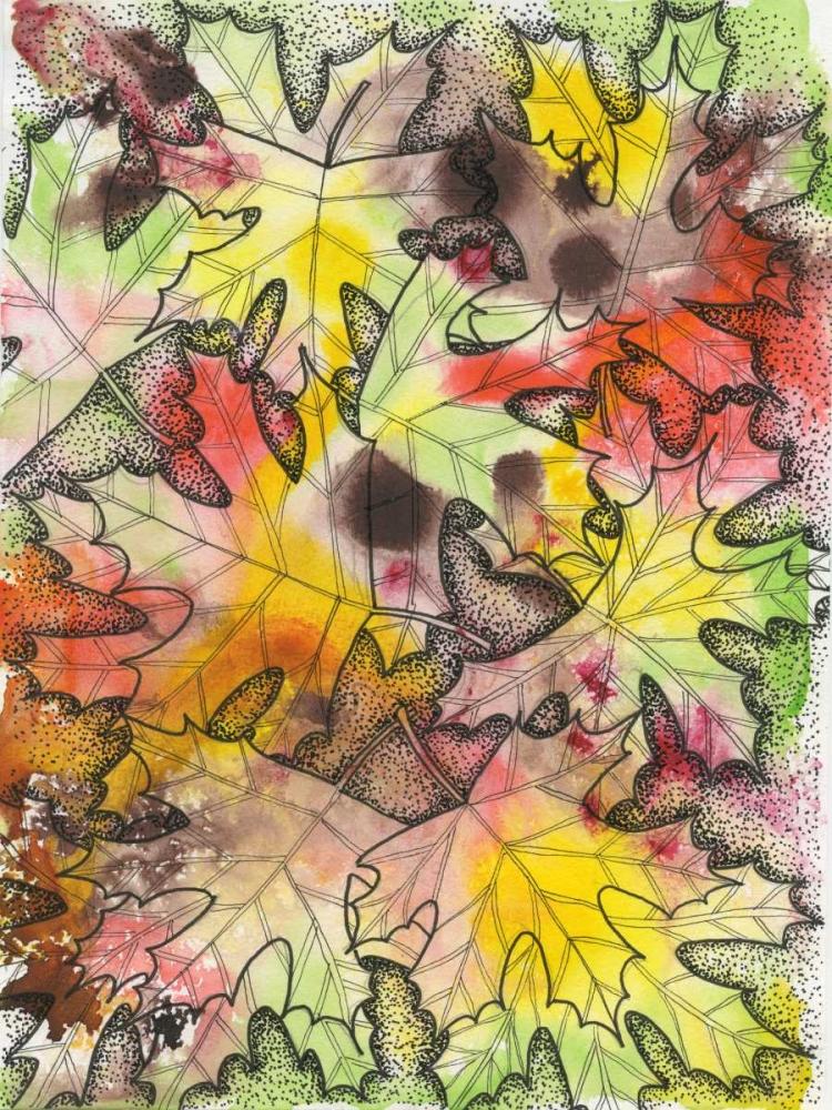 konfigurieren des Kunstdrucks in Wunschgröße Fall Foliage von Varacek, Pam