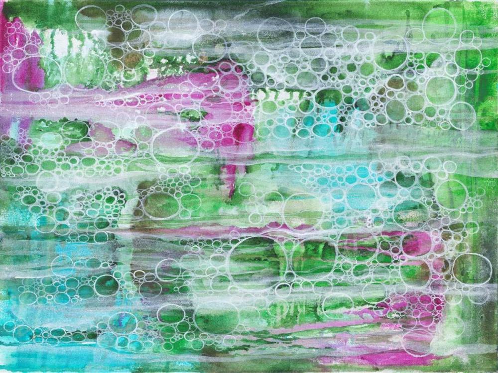 konfigurieren des Kunstdrucks in Wunschgröße Seasweed Bubbles von Varacek, Pam