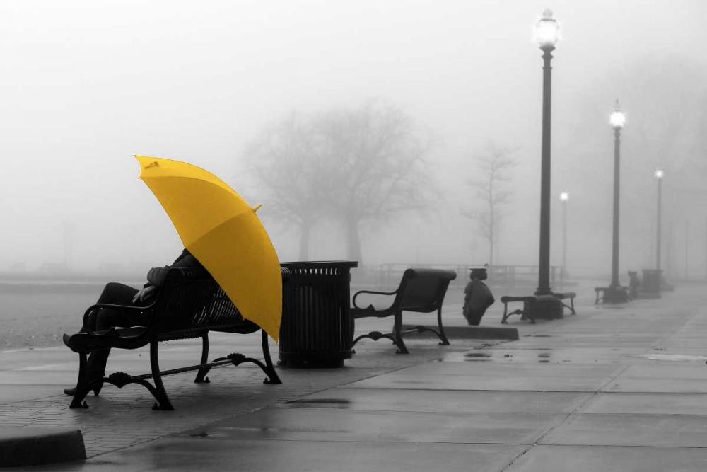 konfigurieren des Kunstdrucks in Wunschgröße Sitting In The Rain von De Carvalho, Sandro