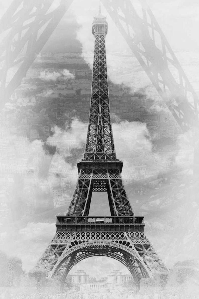 konfigurieren des Kunstdrucks in Wunschgröße Eiffel 2 von De Carvalho, Sandro