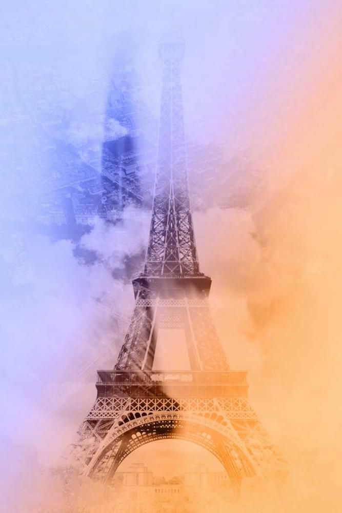 konfigurieren des Kunstdrucks in Wunschgröße Eiffel 3 von De Carvalho, Sandro