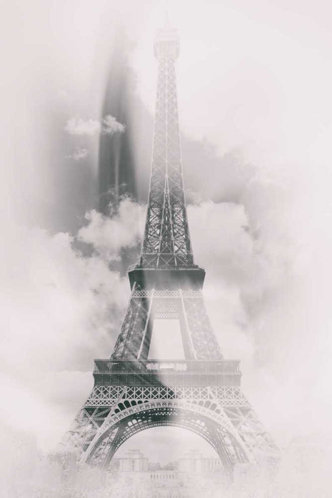 konfigurieren des Kunstdrucks in Wunschgröße Eiffel 4 von De Carvalho, Sandro