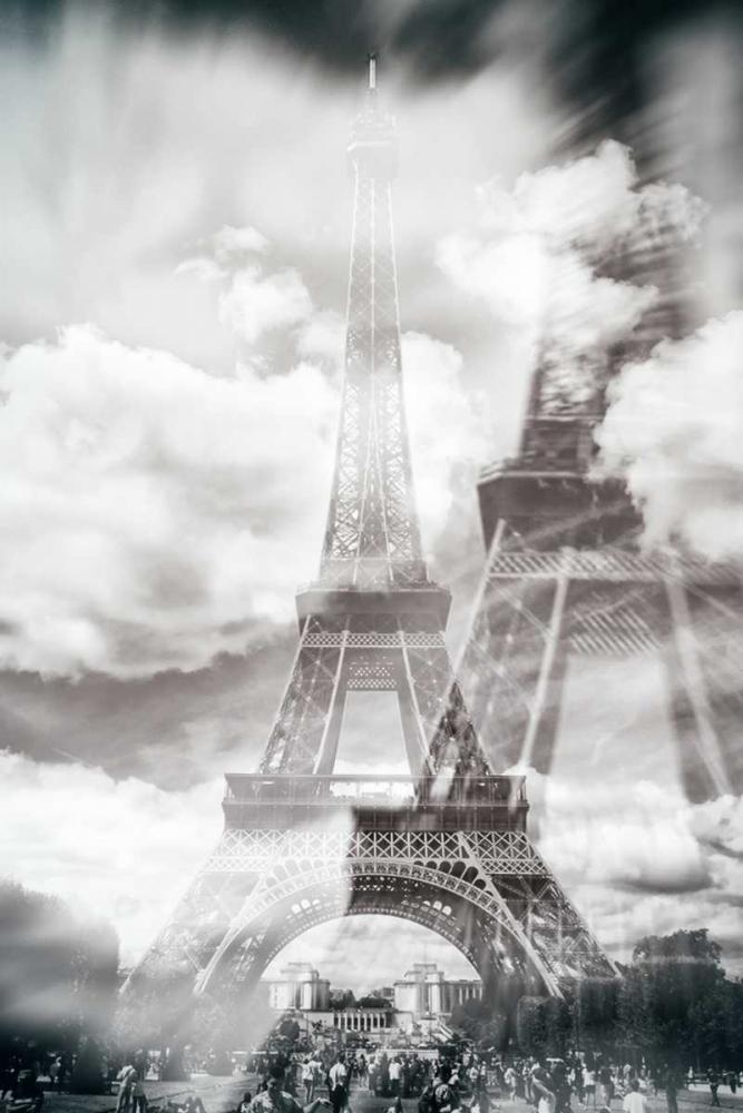 konfigurieren des Kunstdrucks in Wunschgröße Eiffel 6 von De Carvalho, Sandro