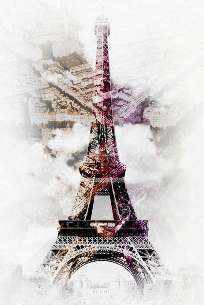 konfigurieren des Kunstdrucks in Wunschgröße Eiffel 8 von De Carvalho, Sandro