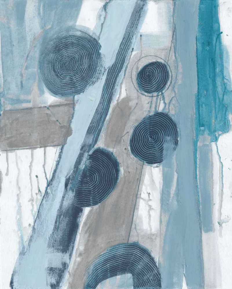 konfigurieren des Kunstdrucks in Wunschgröße Blue Points III von Haynes, Smith