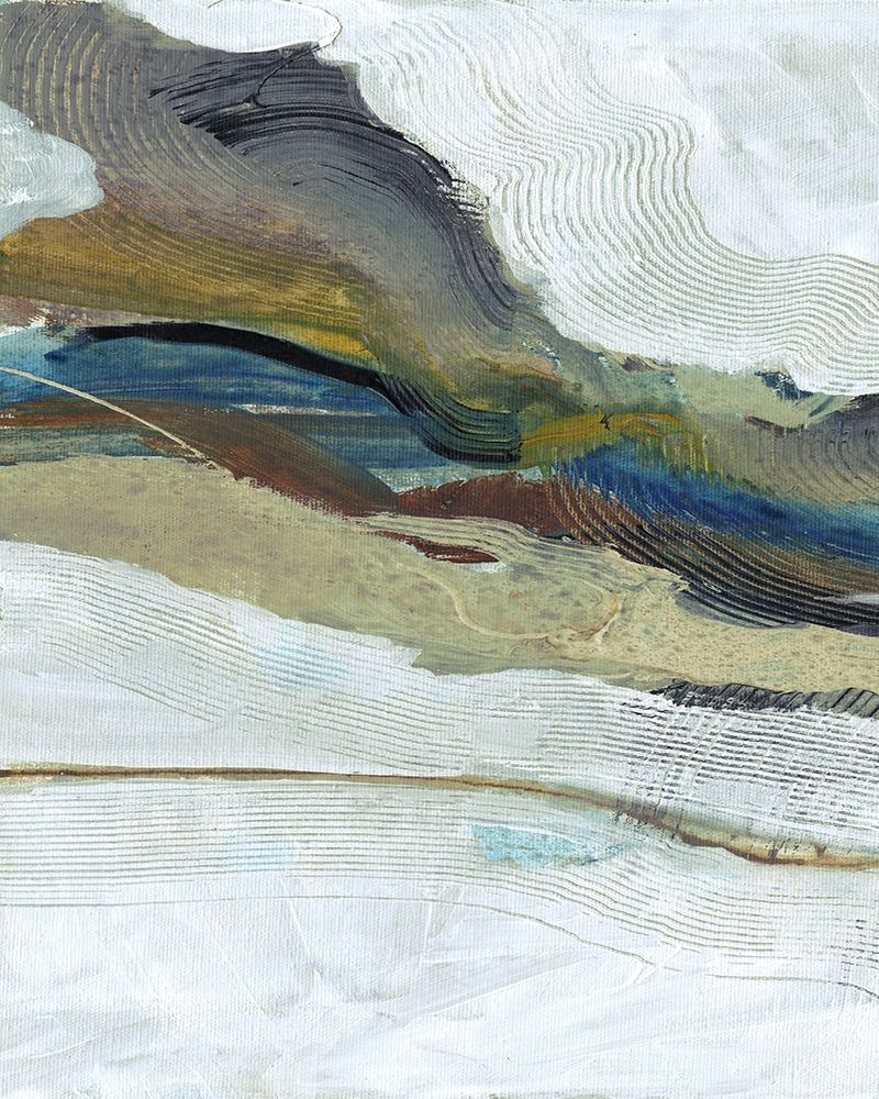 konfigurieren des Kunstdrucks in Wunschgröße One Flow von Haynes, Smith