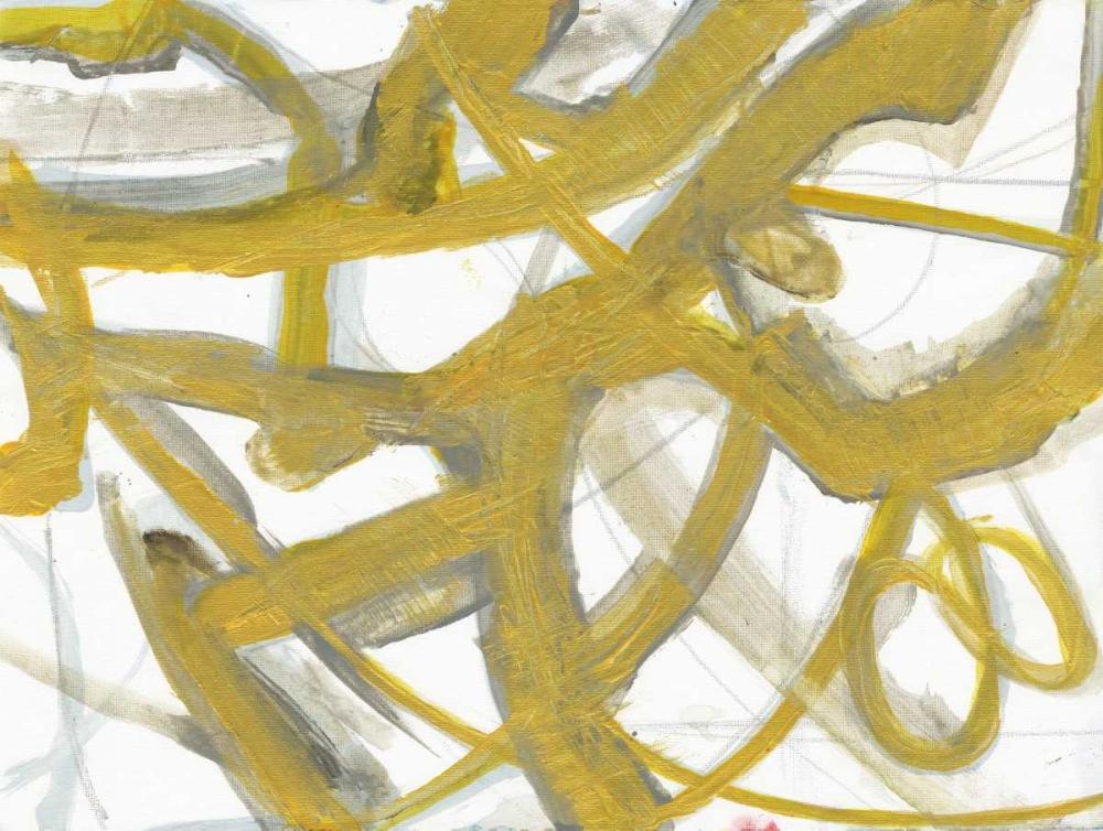 konfigurieren des Kunstdrucks in Wunschgröße Golden Webbing 2 von Haynes, Smith