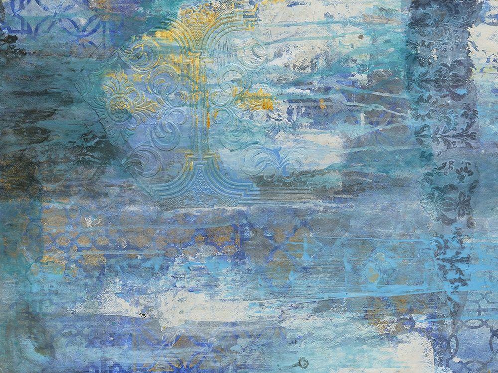 konfigurieren des Kunstdrucks in Wunschgröße Sapphire Collision von Haynes, Smith