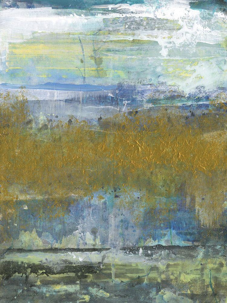 konfigurieren des Kunstdrucks in Wunschgröße Golden Stream von Haynes, Smith