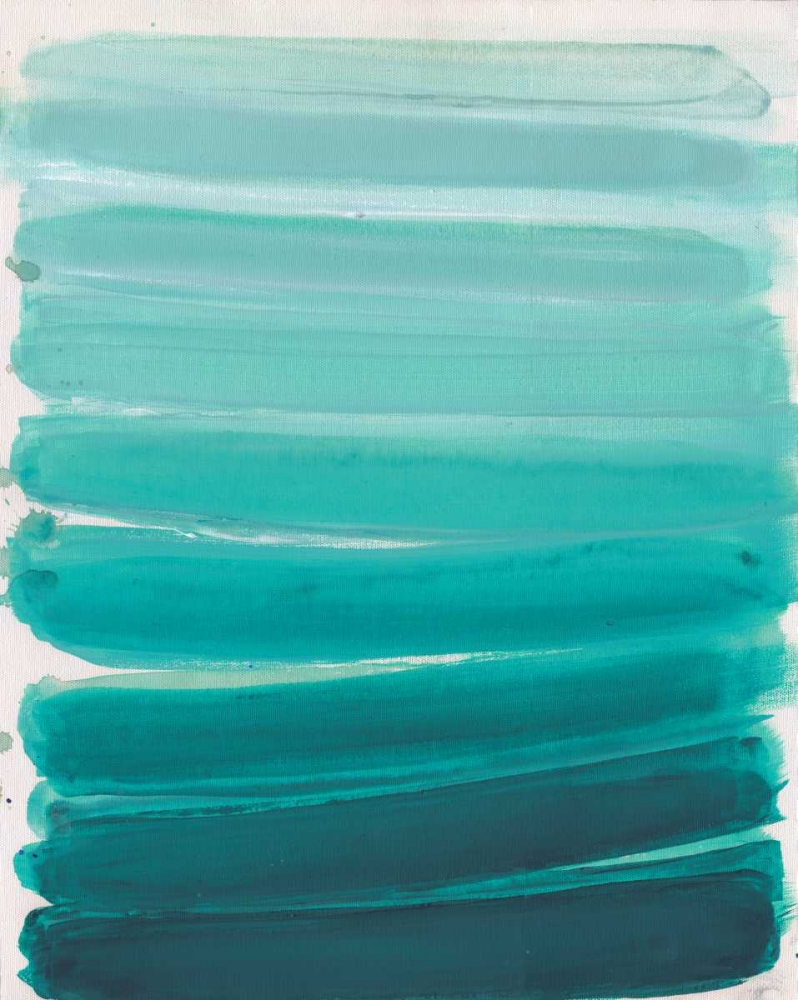 konfigurieren des Kunstdrucks in Wunschgröße Ombre Teal von Haynes, Smith