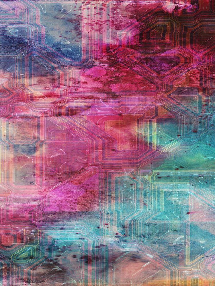 konfigurieren des Kunstdrucks in Wunschgröße Third Dimensional Color Drift von Lewis, Sheldon