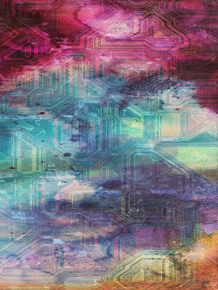 konfigurieren des Kunstdrucks in Wunschgröße Fifth Dimensional Color Drift von Lewis, Sheldon
