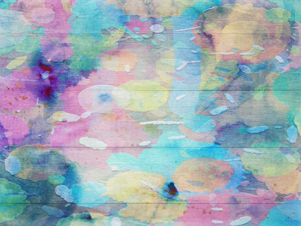konfigurieren des Kunstdrucks in Wunschgröße Vibrant Abstract von Lewis, Sheldon