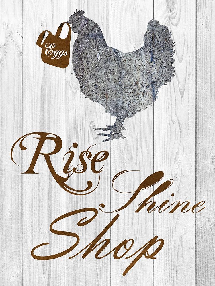 konfigurieren des Kunstdrucks in Wunschgröße Rise And Shop von Lewis, Sheldon