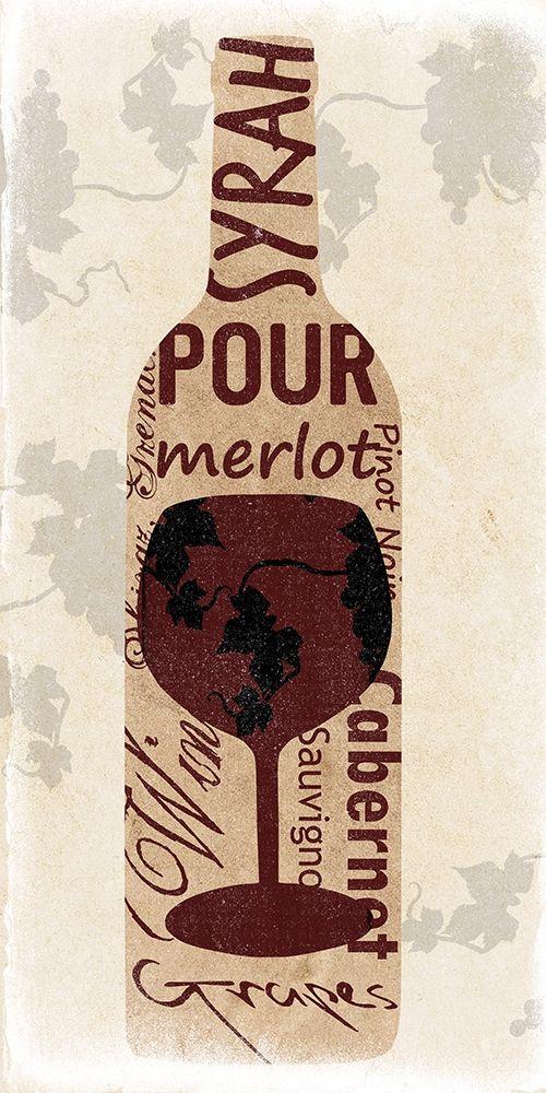 konfigurieren des Kunstdrucks in Wunschgröße Red Wine von Lewis, Sheldon
