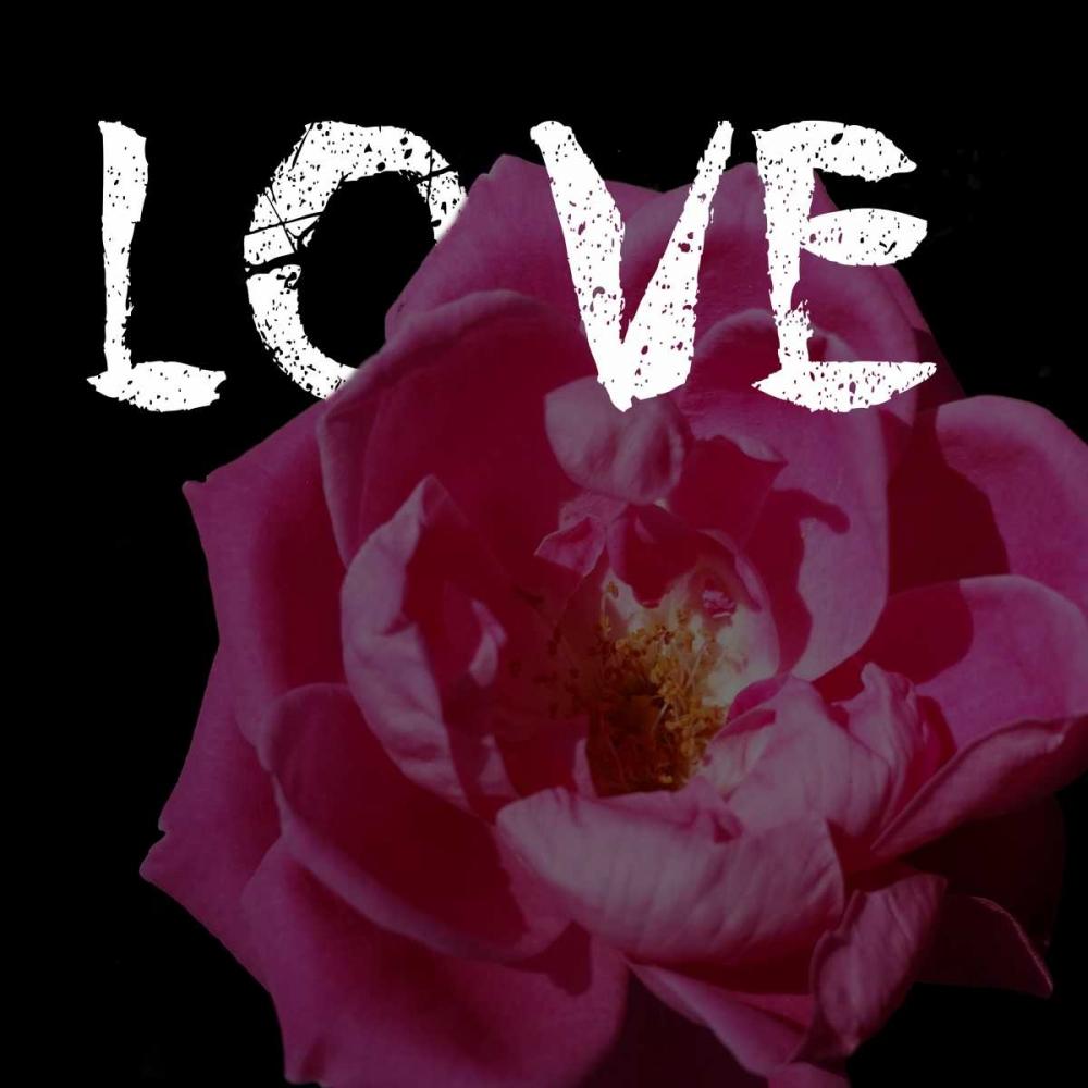 konfigurieren des Kunstdrucks in Wunschgröße Love von