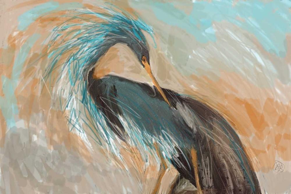 konfigurieren des Kunstdrucks in Wunschgröße Beachy Bird von Butcher, Sarah