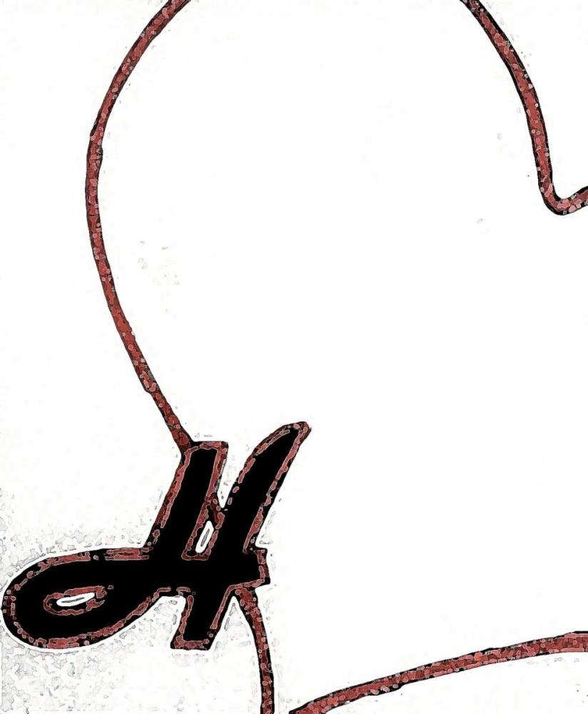 konfigurieren des Kunstdrucks in Wunschgröße Love von Pazan, Tony
