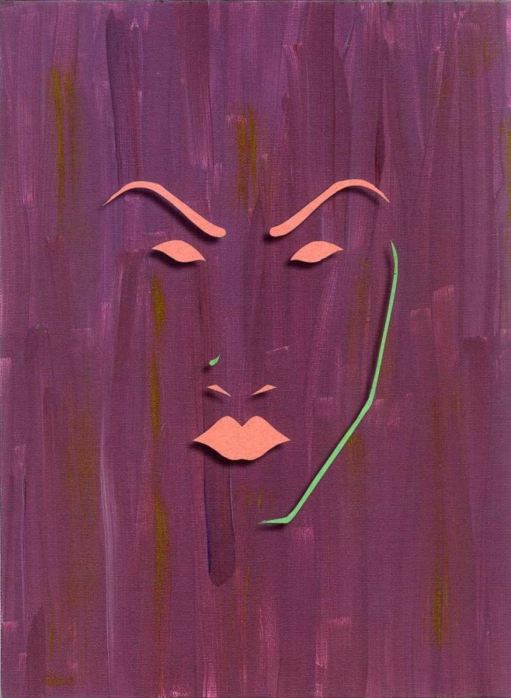 konfigurieren des Kunstdrucks in Wunschgröße Mask von Pazan, Tony
