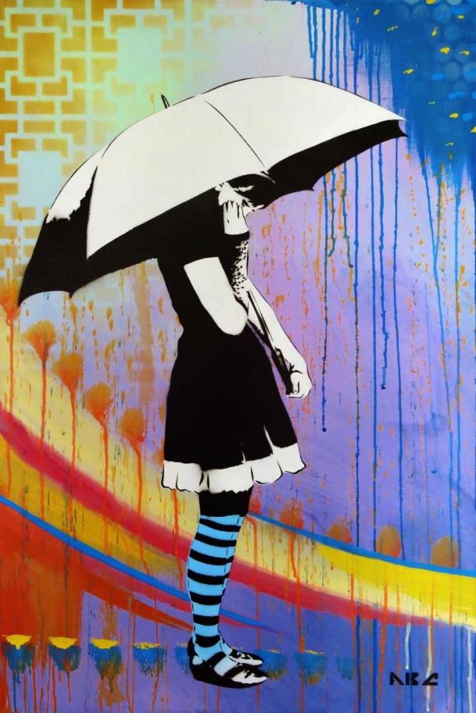 konfigurieren des Kunstdrucks in Wunschgröße Waiting for the Rain von AbcArtAttack