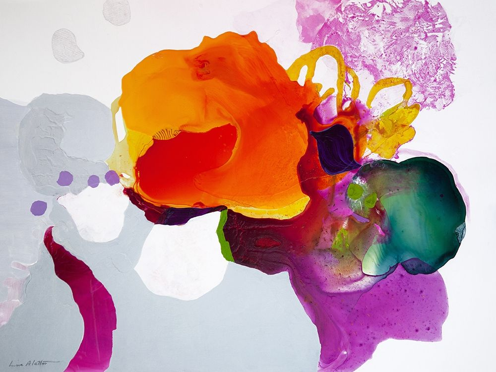 konfigurieren des Kunstdrucks in Wunschgröße Like a Moth to a Bloom von Alattar, Lina