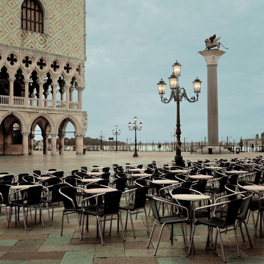 konfigurieren des Kunstdrucks in Wunschgröße Piazza San Marco - 4 von Blaustein, Alan