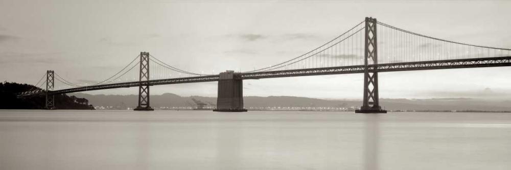 konfigurieren des Kunstdrucks in Wunschgröße Bay Bridge Pano - 1 von Blaustein, Alan