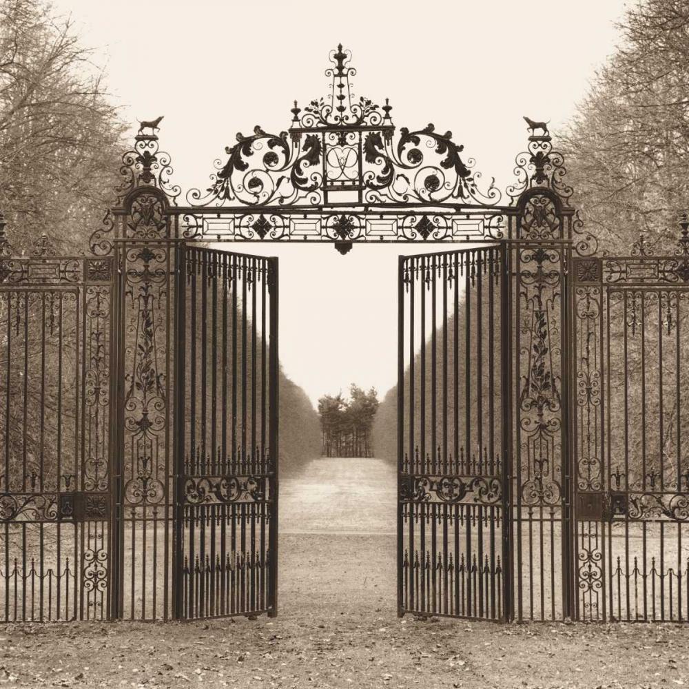 konfigurieren des Kunstdrucks in Wunschgröße Hampton Gate von Blaustein, Alan