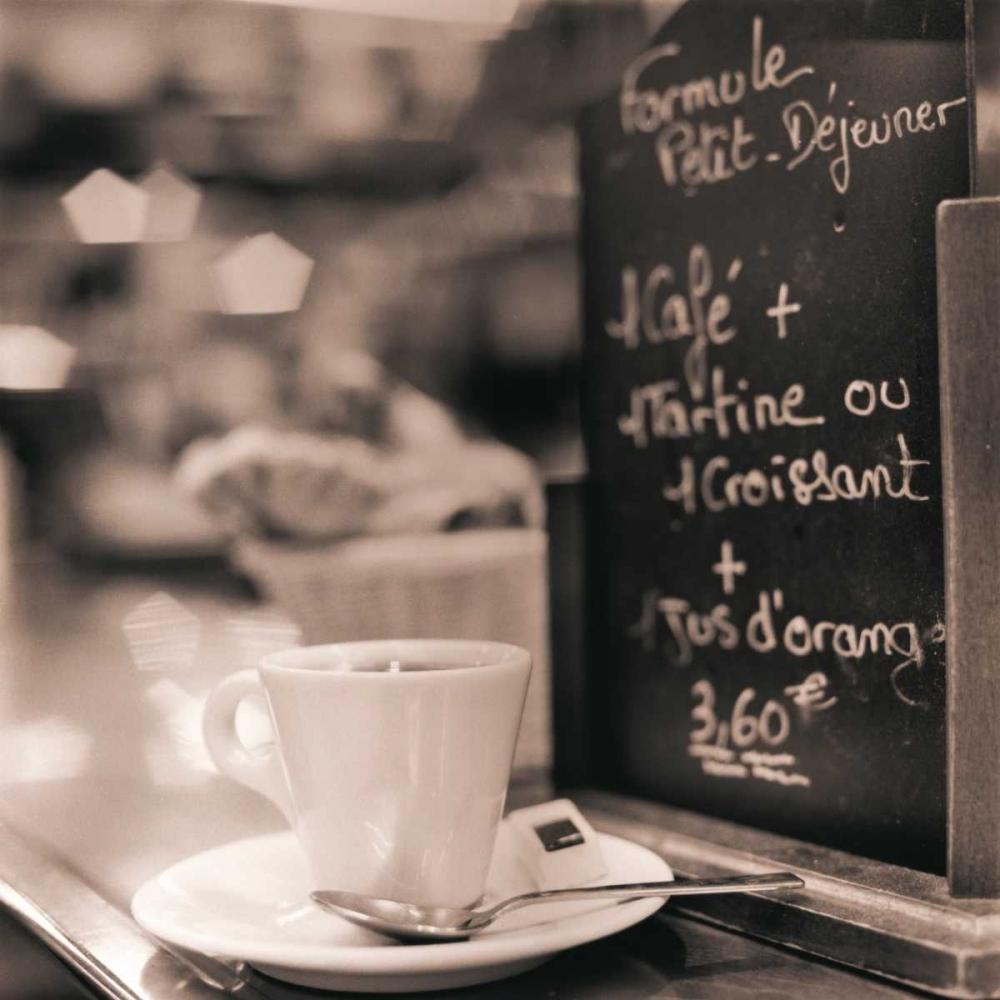 konfigurieren des Kunstdrucks in Wunschgröße Cafe Champs-Elysees von Blaustein, Alan