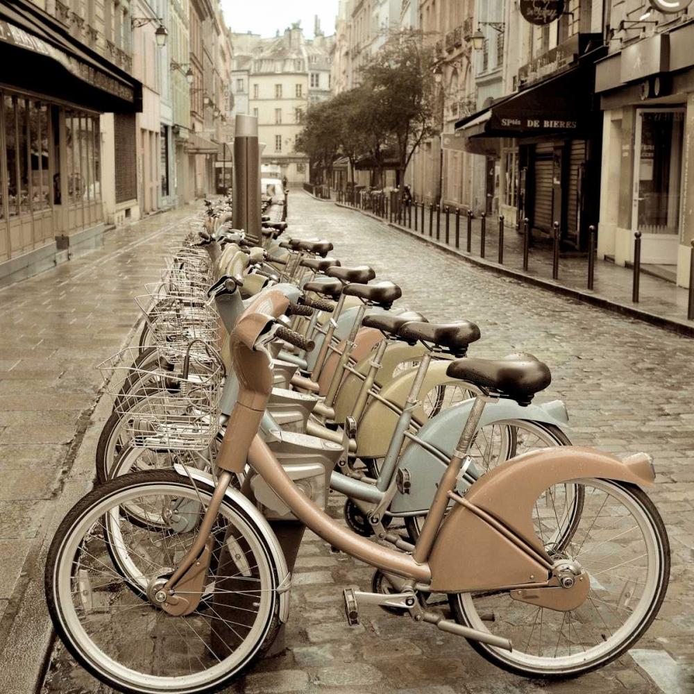 konfigurieren des Kunstdrucks in Wunschgröße City Street Ride von Blaustein, Alan