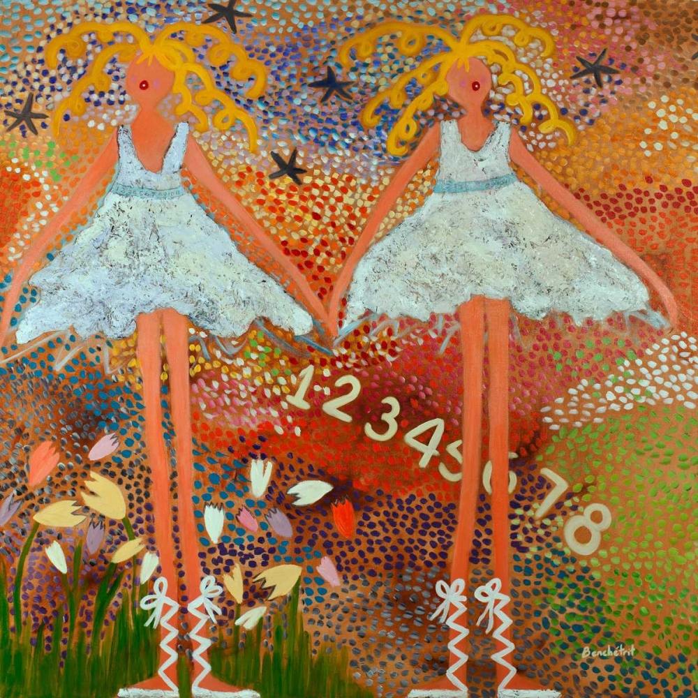 konfigurieren des Kunstdrucks in Wunschgröße Desert Dance von Benchetrit, Caroline
