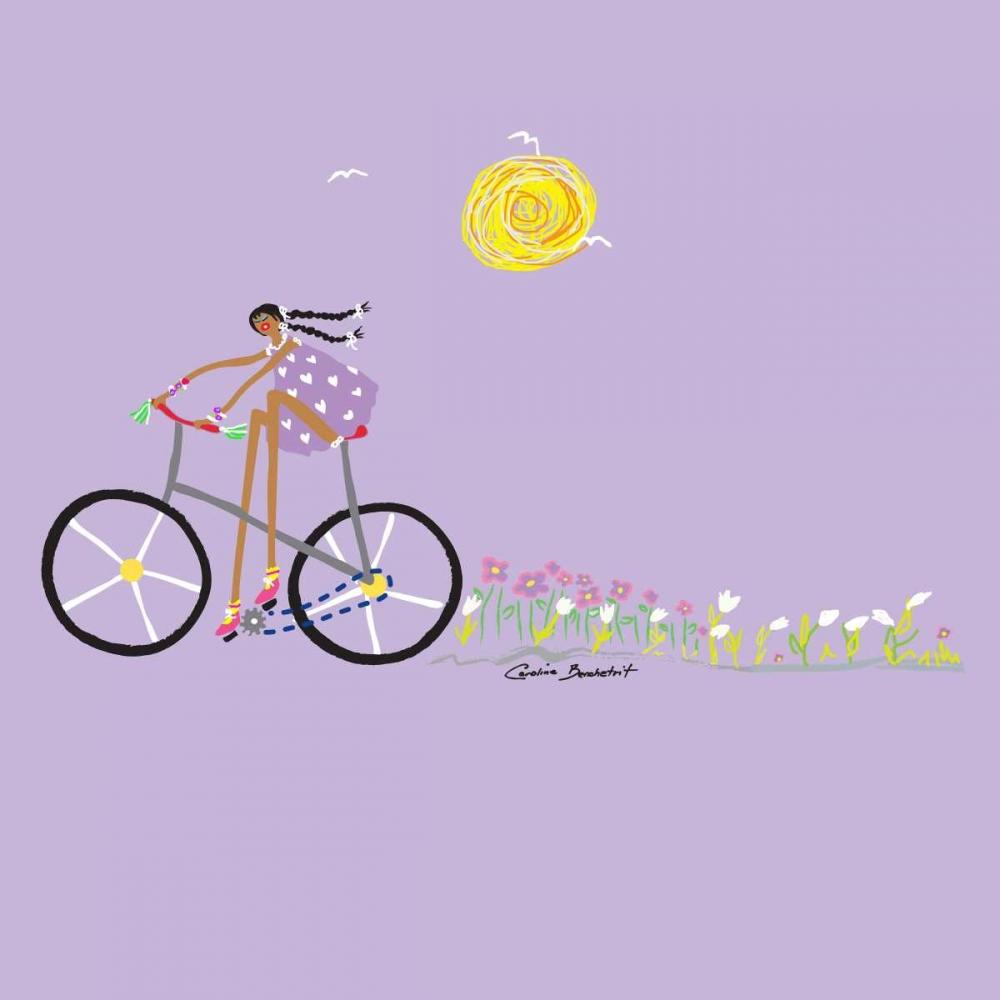 konfigurieren des Kunstdrucks in Wunschgröße Tour de Girls 2 von Benchetrit, Caroline