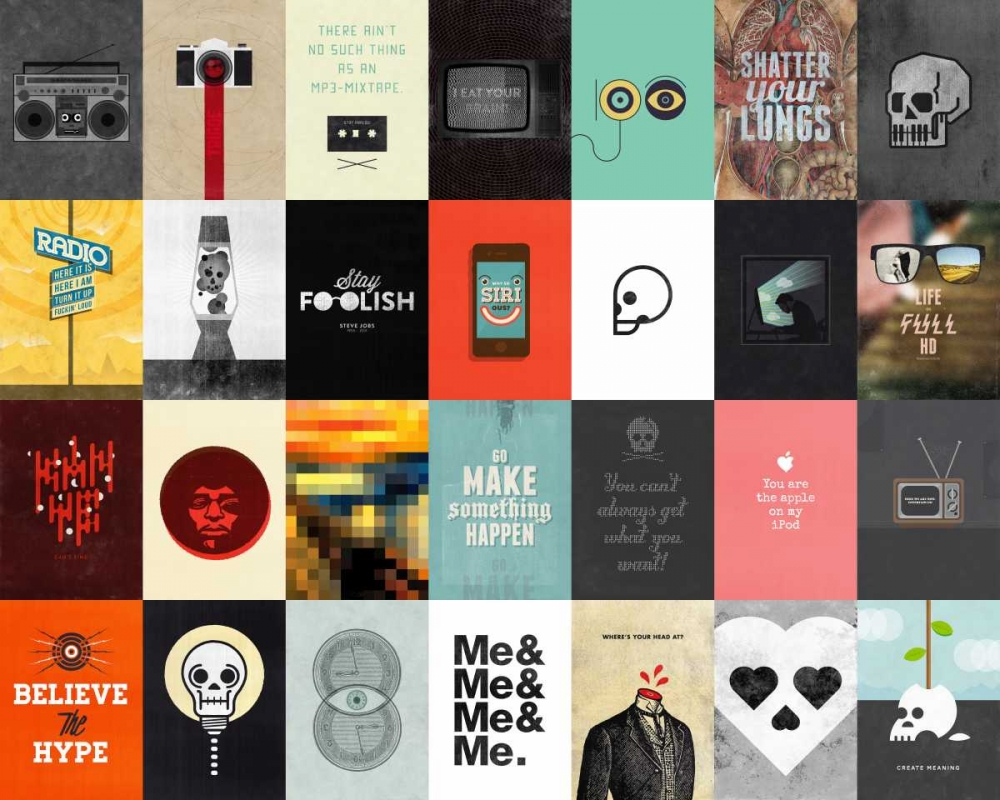 konfigurieren des Kunstdrucks in Wunschgröße Music Technology Media von Beer, Hannes