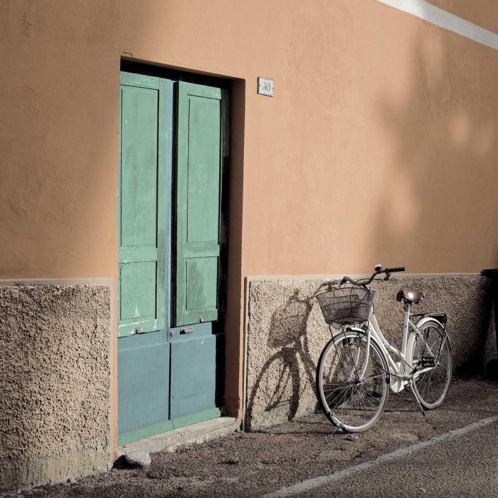 konfigurieren des Kunstdrucks in Wunschgröße Liguria Bicycle von Blaustein, Alan