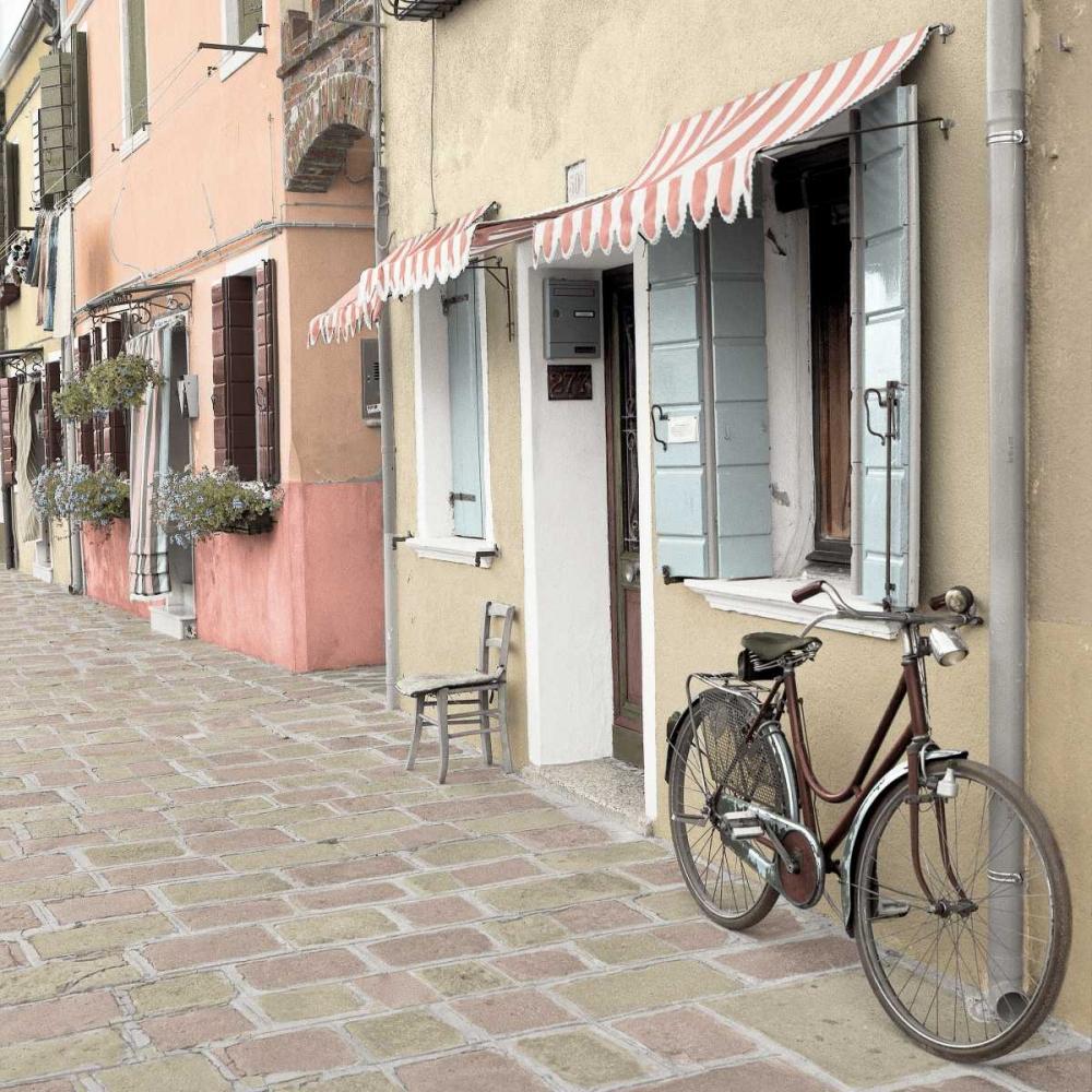 konfigurieren des Kunstdrucks in Wunschgröße Venetian Bicycle von Blaustein, Alan