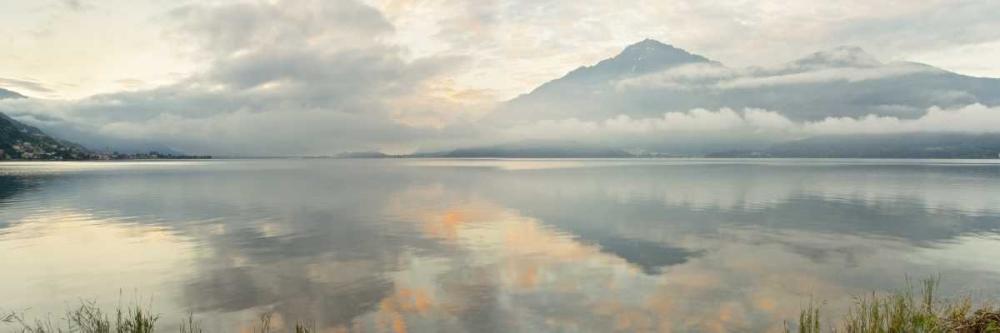 konfigurieren des Kunstdrucks in Wunschgröße Gravedonna Lake Vista von Blaustein, Alan