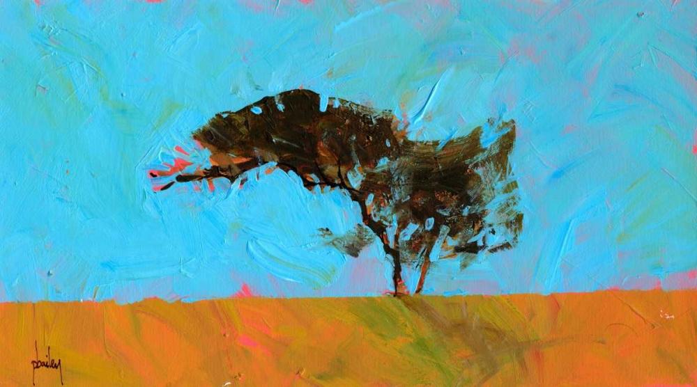 konfigurieren des Kunstdrucks in Wunschgröße Desert Tree von Bailey, Paul