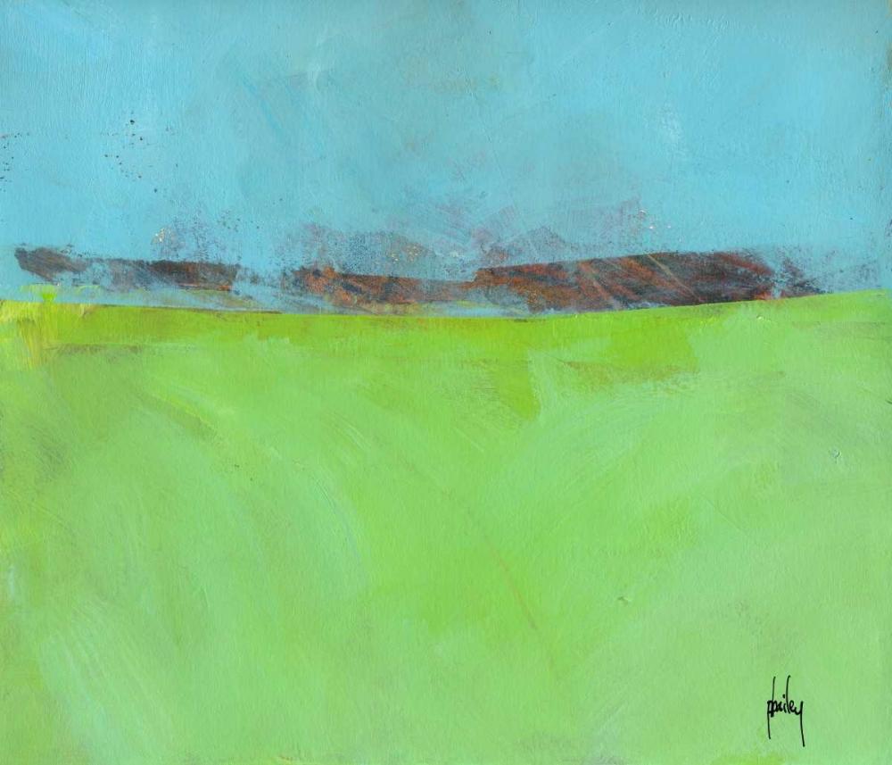 konfigurieren des Kunstdrucks in Wunschgröße Low Distant Hills von Bailey, Paul