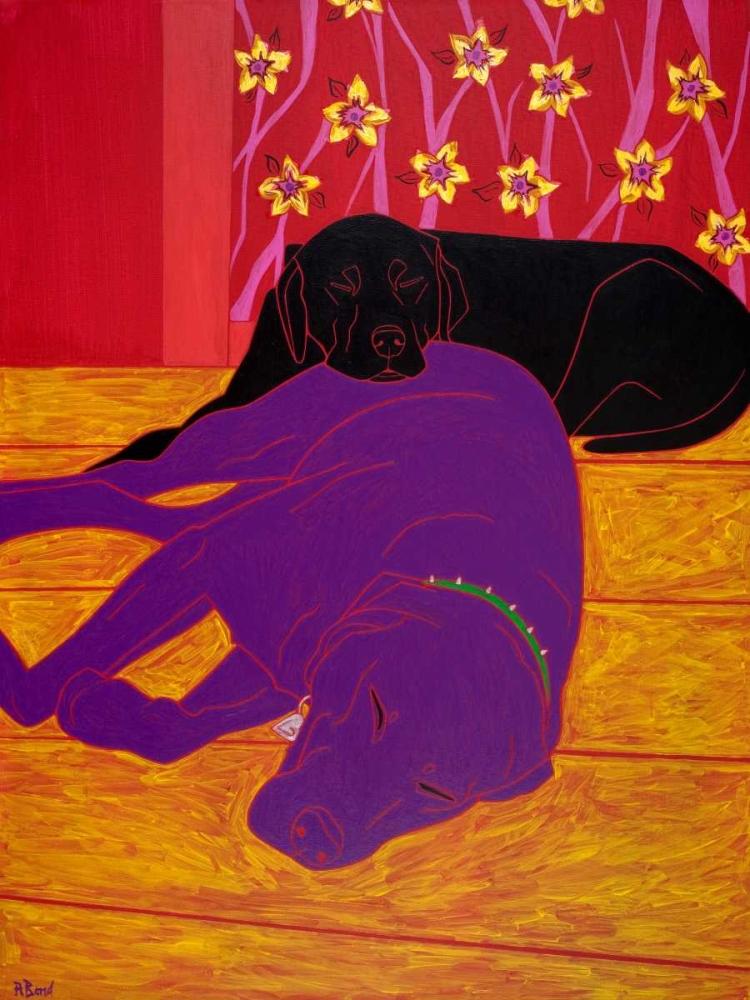 konfigurieren des Kunstdrucks in Wunschgröße Let Sleeping Dogs Lie von Bond, Angela