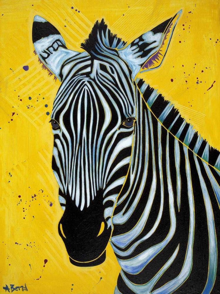 konfigurieren des Kunstdrucks in Wunschgröße Zebra von Bond, Angela