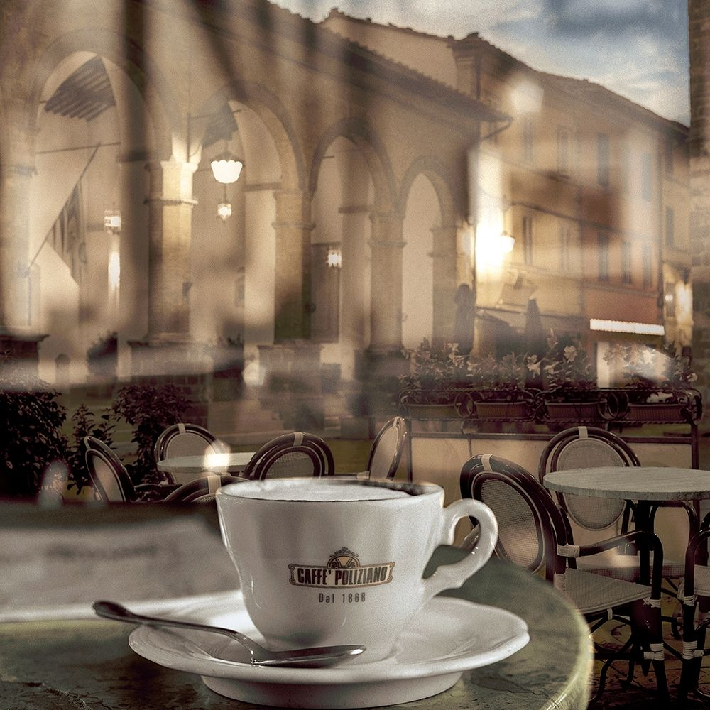 konfigurieren des Kunstdrucks in Wunschgröße Montepulciano Caffe #1 von Blaustein, Alan