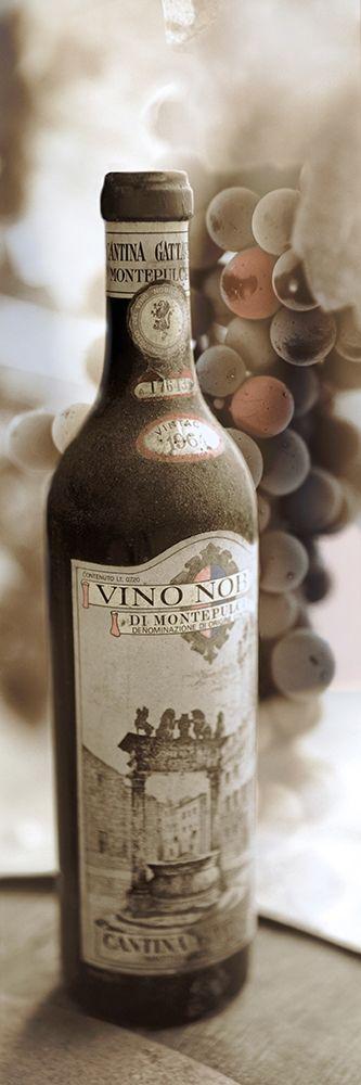 konfigurieren des Kunstdrucks in Wunschgröße Montepulciano Vineyard #1 von Blaustein, Alan
