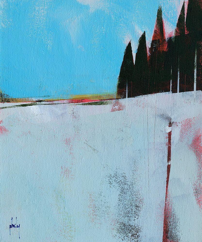 konfigurieren des Kunstdrucks in Wunschgröße Snow Field von Bailey, Paul