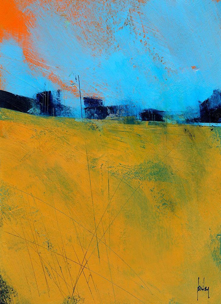 konfigurieren des Kunstdrucks in Wunschgröße Tiny Orange Sun von Bailey, Paul