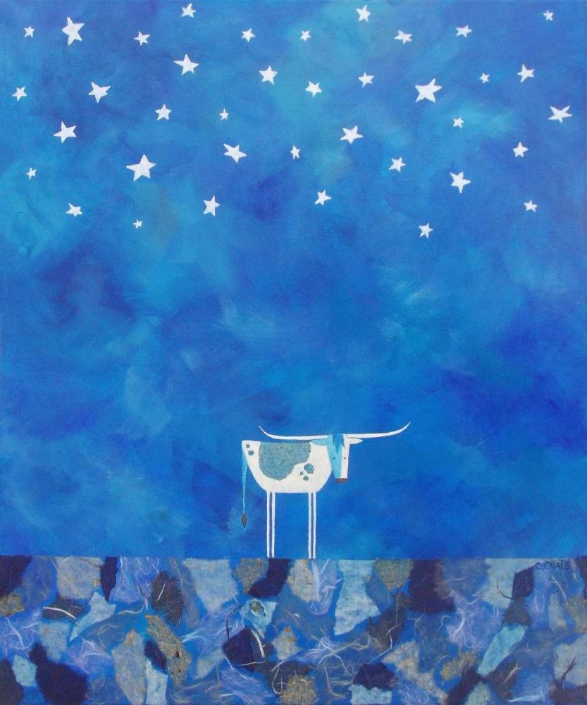 konfigurieren des Kunstdrucks in Wunschgröße Stars at Night von Craig, Casey