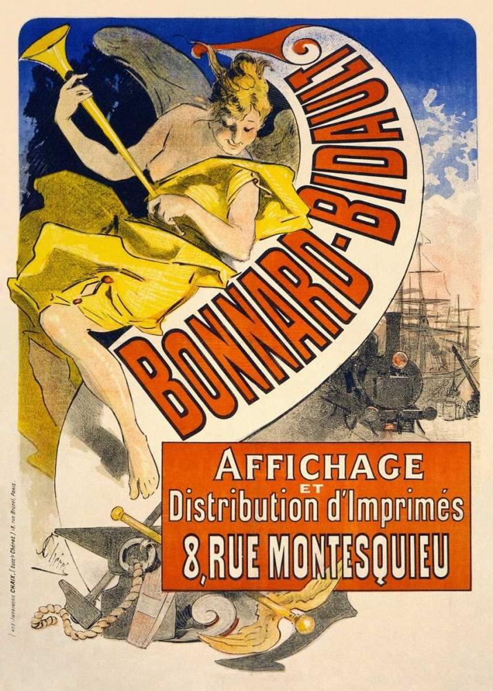 konfigurieren des Kunstdrucks in Wunschgröße Bonnard Bidault von Cheret, Jules