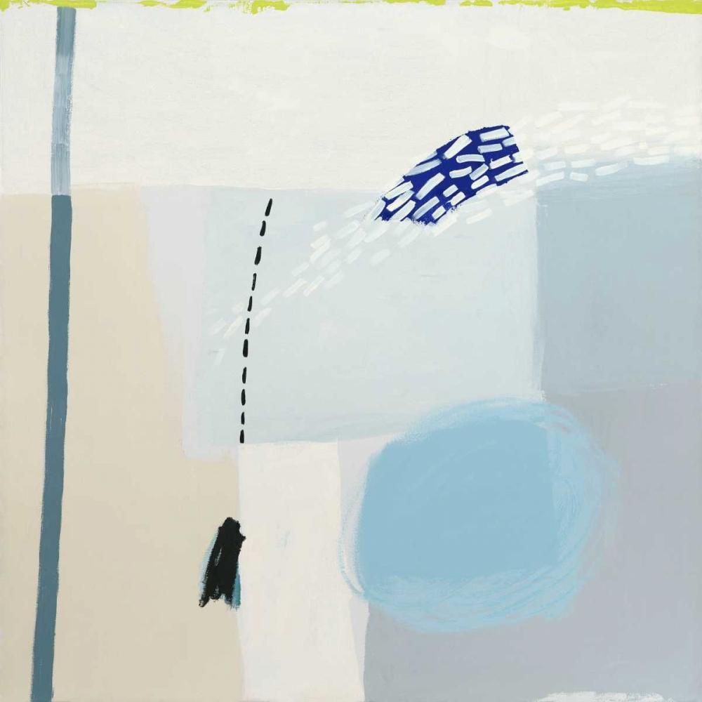 konfigurieren des Kunstdrucks in Wunschgröße Blues von Cohen, Aliza