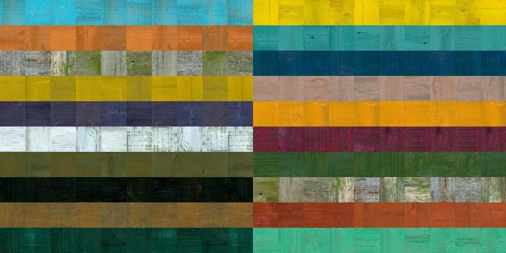 konfigurieren des Kunstdrucks in Wunschgröße Wooden Abstract VIII von Calkins, Michelle