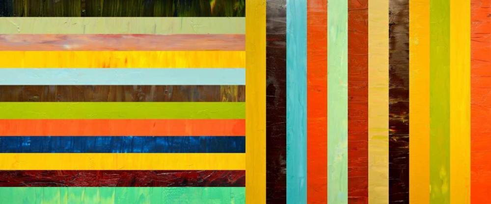 konfigurieren des Kunstdrucks in Wunschgröße Panel Abstract – Digital Compilation von Calkins, Michelle