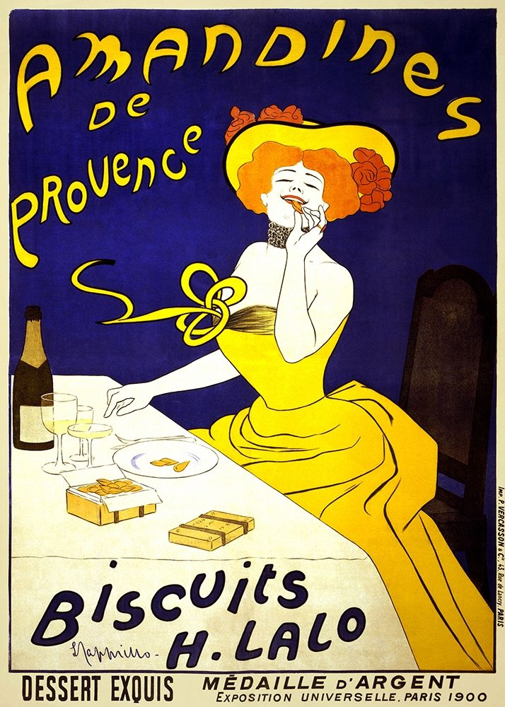 konfigurieren des Kunstdrucks in Wunschgröße Amandines de Provence, 1900 von Cappiello, Leonetto